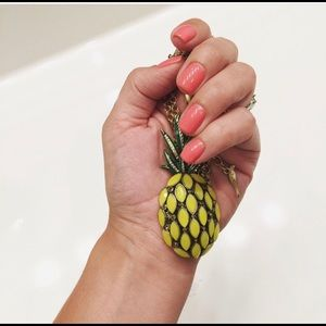 Pineapple Long Necklace